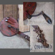 Antieke snijbonen snijmachine