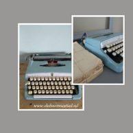 Vintage schrijfmachine